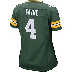Women s Nike Green Bay Packers Brett Favre Replica Jersey fa5ef7124