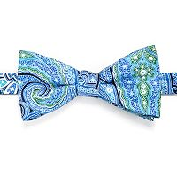 Men's Croft & Barrow® Paisley Pre-Tied Bow Tie