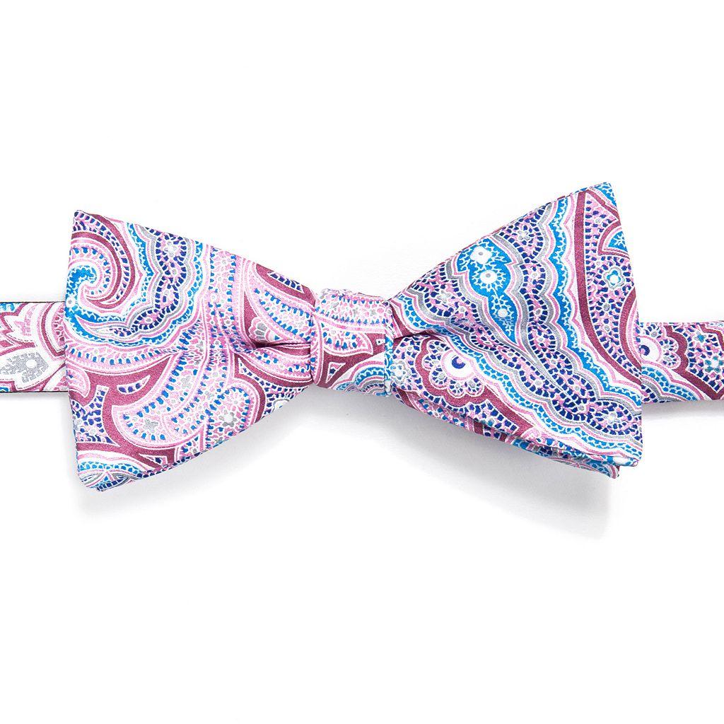 Men's Croft & Barrow® Paisley Pre-Tied Bow Tie