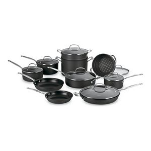 Cuisinart® Chef's Classic 17-pc. Nonstick Hard-Anodized Cookware Set