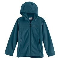 Boys 4-7 Columbia Zip-Up Fleece Hoodie