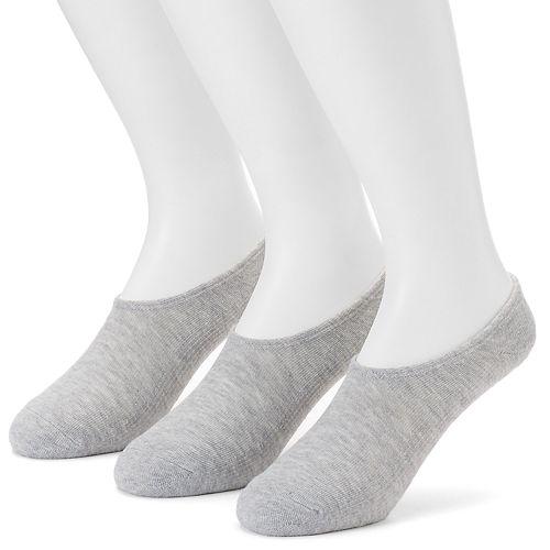 Men's Converse 3-pack Made For Chucks Solid Liner Socks