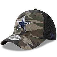 Adult New Era Dallas Cowboys 39THIRTY Shock Camo Flex-Fit Cap