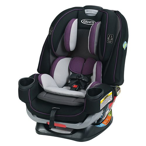 graco 4ever extend2fit all in one convertible car seat. Black Bedroom Furniture Sets. Home Design Ideas