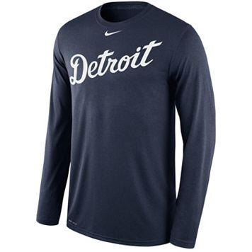 Men's Nike Detroit Tigers Wordmark Dri-FIT Legend Tee