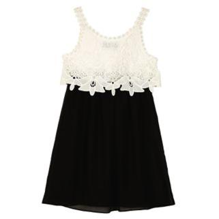 Girls 7-16 IZ Amy Byer Lace Popover Dress