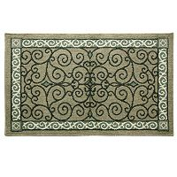 Bacova Reliance Eastley Midnight Scroll Rug