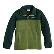 Boys 8-20 Columbia Fleece Flattop Ridge Jacket