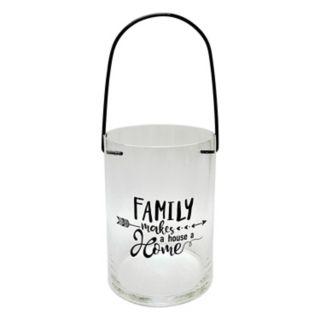"""Family"" Lantern Table Decor"