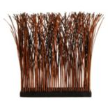 Designs by Lauren Artificial Twisted Willow Screen Divider Floor Decor