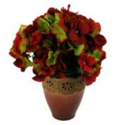 Designs by Lauren Traditional Artificial Hydrangea Arrangement