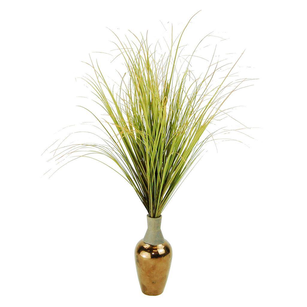 Designs by Lauren Contemporary Artificial Maiden Grass Plant