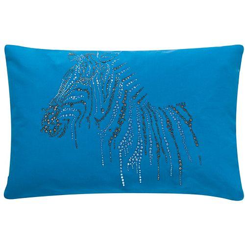Safavieh Sparkling Zebra Throw Pillow