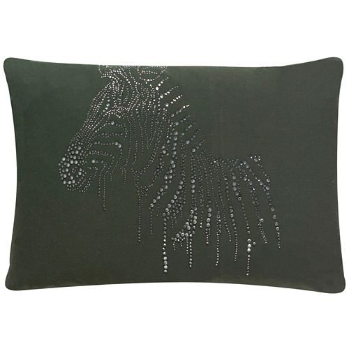 Safavieh Sparkling Zebra Throw Pillow