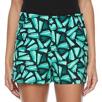 Juniors' Candie's® Print High-Waist Shorts