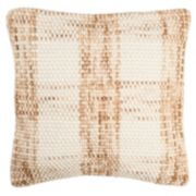 Safavieh Woven Plaid Throw Pillow