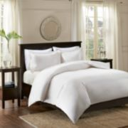 Madison Park Signature 3-piece 600 Thread Count Infinity Cotton Duvet Cover Set