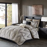 Madison Park 8 pc Hailey Jacquard Comforter Set