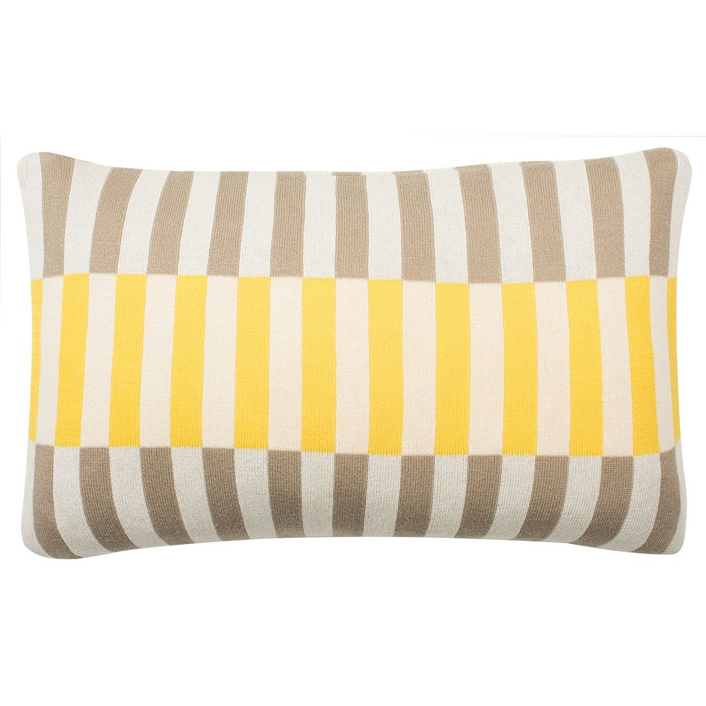 Safavieh Multi Block Throw Pillow