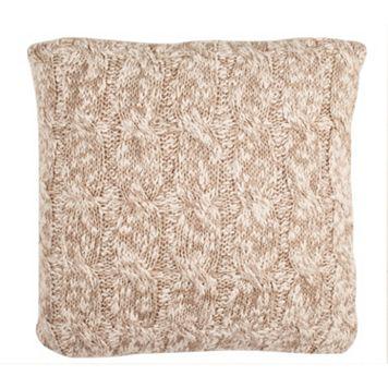 Safavieh Chunky Knit Throw Pillow