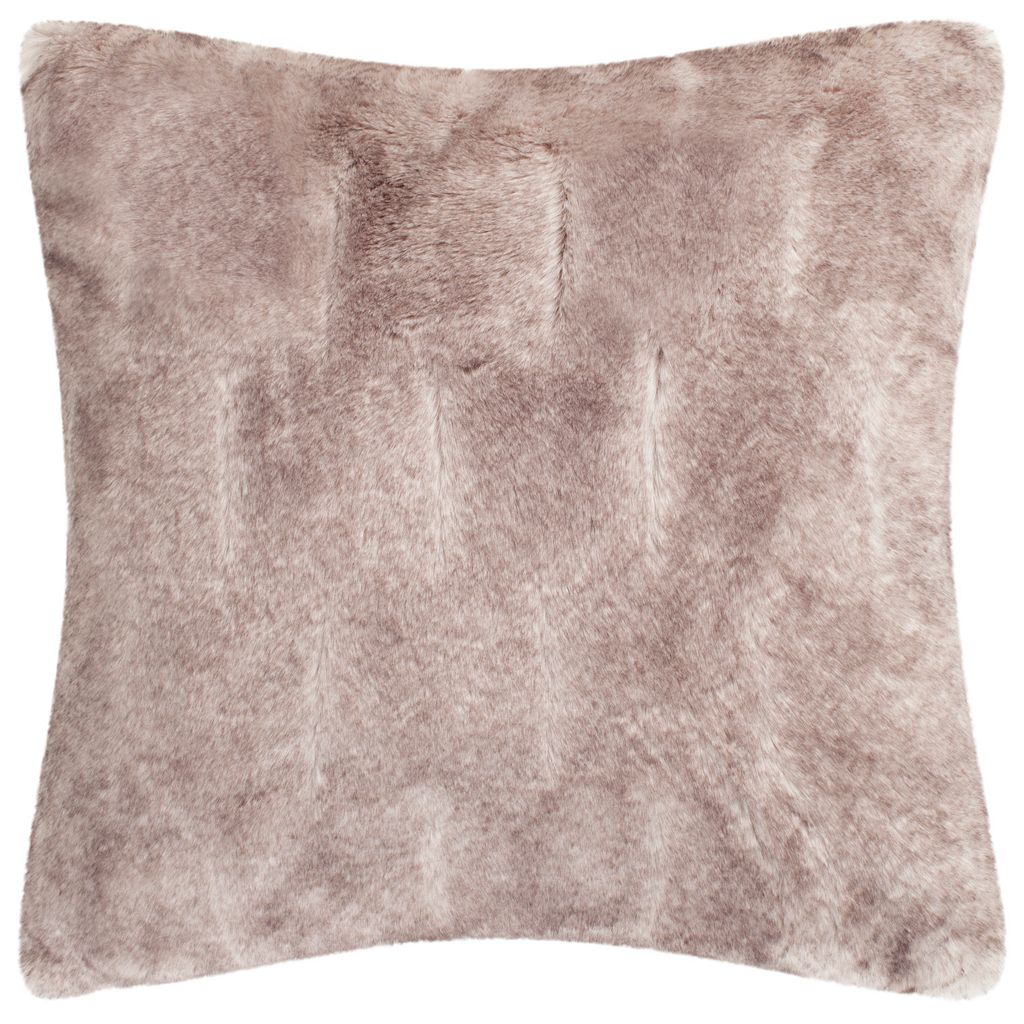 Safavieh Chinchilla Faux Fur Throw Pillow