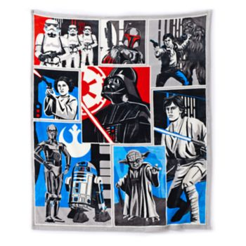 Star Wars Classic Collage Plush Throw by Jumping Beans®