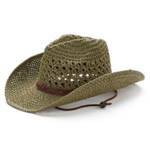 Peter Grimm Grazi Drifter Open Weave Cowboy Hat