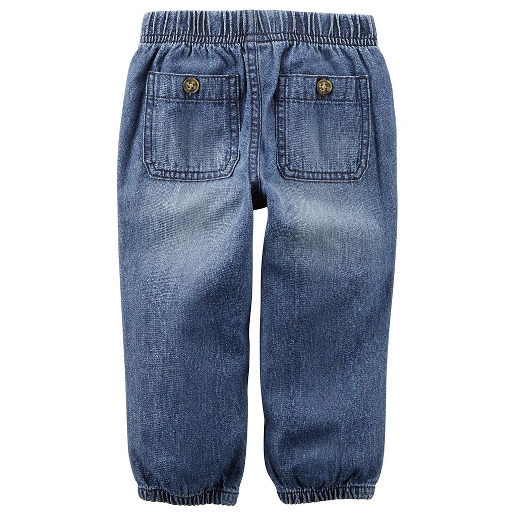 Baby Boy Carter's Denim Utility Pants