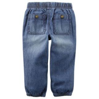Baby Boy Carter's Denim Utility Pants