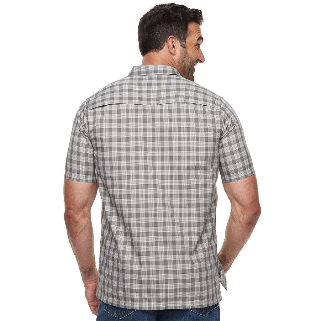 Big & Tall Croft & Barrow® Classic-Fit Quick-Dry Outdoor Button-Down Shirt