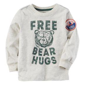 "Baby Boy Carter's ""Free Bear Hugs"" Graphic Tee"