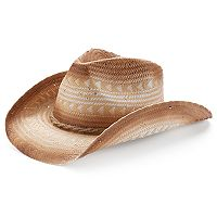 Peter Grimm Ini Drifter Geometric Cowboy Hat