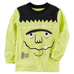 Baby Boy Carter's Long Sleeve Halloween Frankenstein Tee