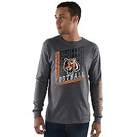 Men's Majestic Cincinnati Bengals Dual Threat Tee