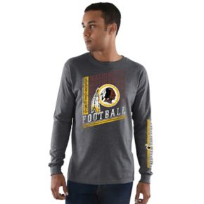 Men's Majestic Washington Redskins Dual Threat Tee