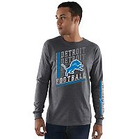 Men's Majestic Detroit Lions Dual Threat Tee