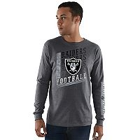 Men's Majestic Oakland Raiders Dual Threat Tee
