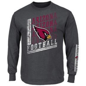 Men's Majestic Arizona Cardinals Dual Threat Tee
