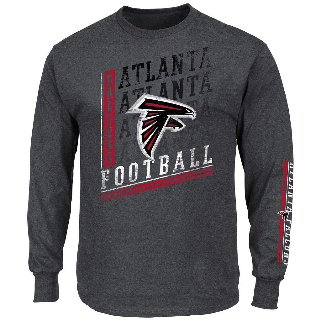 Men's Majestic Atlanta Falcons Dual Threat Tee