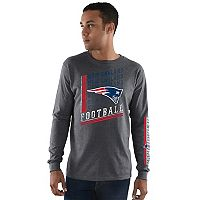 Men's Majestic New England Patriots Dual Threat Tee