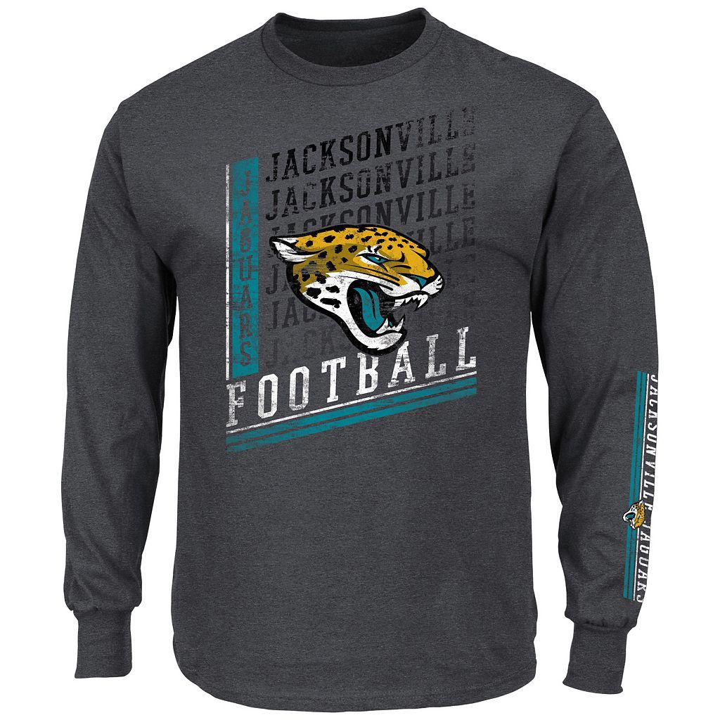 Men's Majestic Jacksonville Jaguars Dual Threat Tee