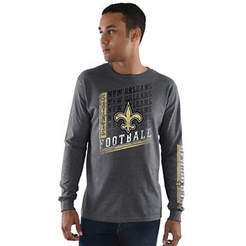 Men's Majestic New Orleans Saints Dual Threat Tee