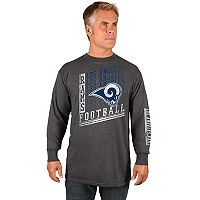 Men's Majestic Los Angeles Rams Dual Threat Tee