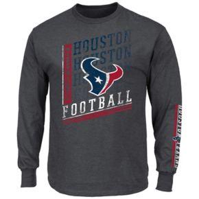 Men's Majestic Houston Texans Dual Threat Tee