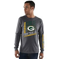 Men's Majestic Green Bay Packers Dual Threat Tee