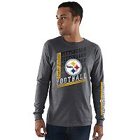 Men's Majestic Pittsburgh Steelers Dual Threat Tee