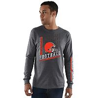 Men's Majestic Cleveland Browns Dual Threat Tee
