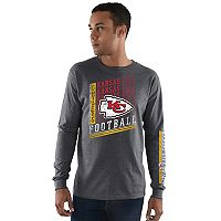 Men's Majestic Kansas City Chiefs Dual Threat Tee