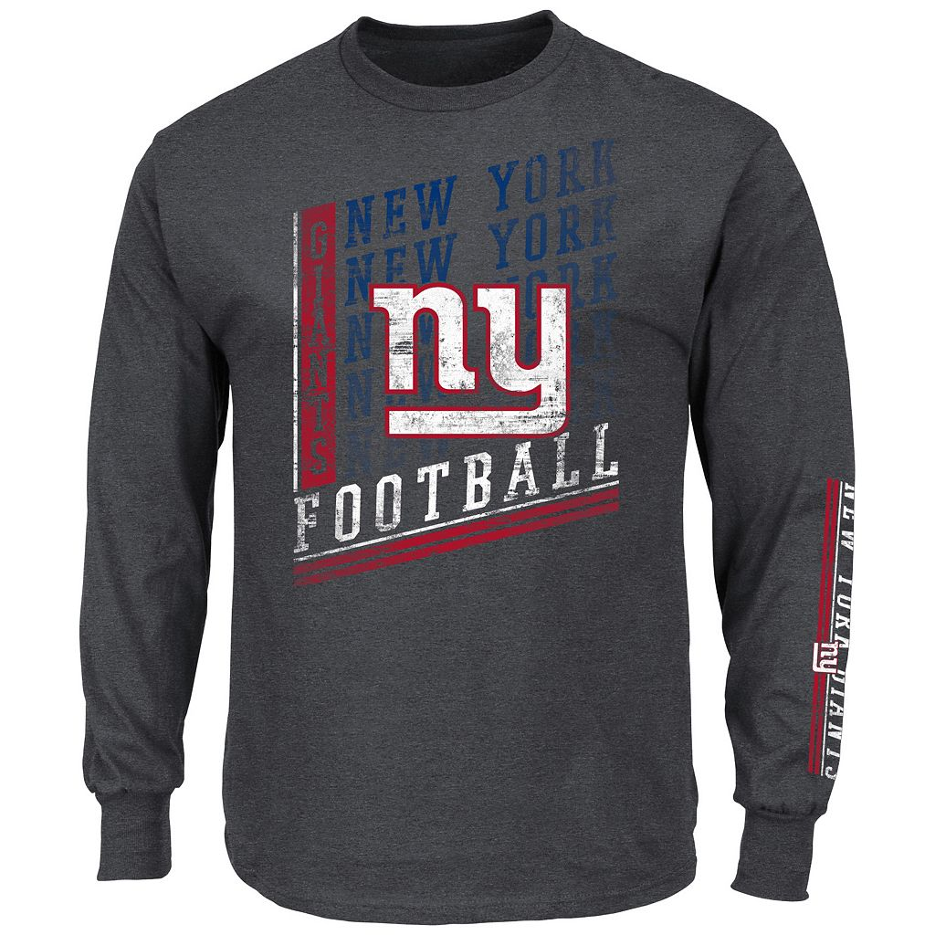 Men's Majestic New York Giants Dual Threat Tee