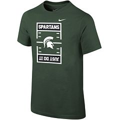 Boys 8-20 Nike Michigan State Spartans Football Tee